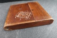 Antique Wooden Calling Card Case (4 of 11)