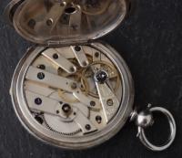 Antique Half Hunter Pocket Watch, Ladies, Victorian (7 of 11)