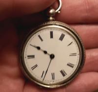 Antique Half Hunter Pocket Watch, Ladies, Victorian (10 of 11)