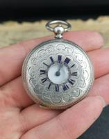 Antique Half Hunter Pocket Watch, Ladies, Victorian (2 of 11)