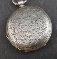 Antique Half Hunter Pocket Watch, Ladies, Victorian (3 of 11)