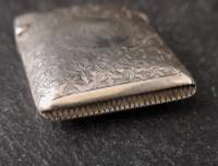 Victorian Silver Vesta Case, Engraved (3 of 11)