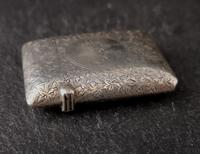 Victorian Silver Vesta Case, Engraved (5 of 11)