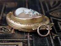 Antique Cameo Locket, 9ct Gold Pendant (2 of 11)
