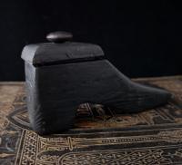Antique Shoe Snuff Box, 19th Century Folk Art (4 of 12)