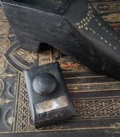 Antique Shoe Snuff Box, 19th Century Folk Art (3 of 12)