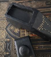 Antique Shoe Snuff Box, 19th Century Folk Art (5 of 12)
