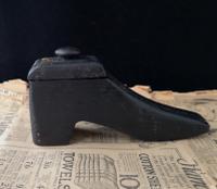 Antique Shoe Snuff Box, 19th Century Folk Art (8 of 12)