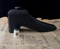 Antique Shoe Snuff Box, 19th Century Folk Art (11 of 12)