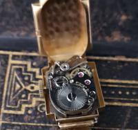 Vintage Art Deco 18ct Gold Ladies Wristwatch (11 of 12)