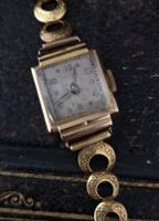 Vintage Art Deco 18ct Gold Ladies Wristwatch (12 of 12)