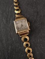 Vintage Art Deco 18ct Gold Ladies Wristwatch (4 of 12)
