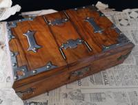Antique Cigar / Cigarette Box, 19th Century (6 of 12)