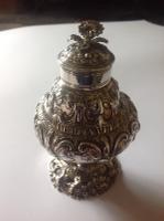 Silver Tea Caddy, Early George III Samuel Taylor, London 1761