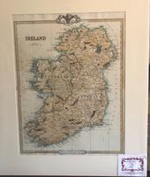 Antiquarian Map of Ireland c.1856