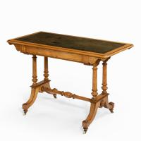 Victorian Writing Table, attributed to Holland & Sons