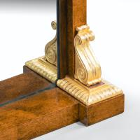 Striking George IV Amboyna, Rosewood & Gilt Console Table attributed to Morel & Seddon (2 of 12)