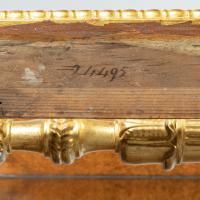 Striking George IV Amboyna, Rosewood & Gilt Console Table attributed to Morel & Seddon (6 of 12)