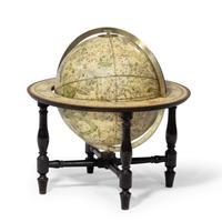 12 Inch Celestial Table Globe by Harris & Son c.1814