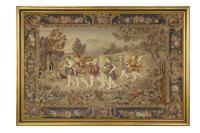 Attractive Late 19th Century Needlework Panel