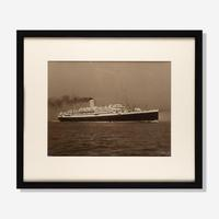 Pair of Beken of Cowes Albumen Photos of the SS Andes and Ss Antares