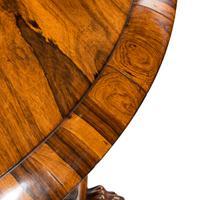Regency Figured Rosewood Tilt-Top Centre Table (6 of 12)