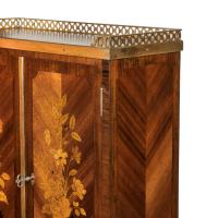 French Rosewood Wall Cabinet by G Durand (9 of 9)