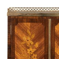 French Rosewood Wall Cabinet by G Durand (7 of 9)