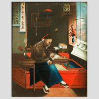 Chinese Oil Paintings in Original Frames (4 of 5)