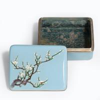 A Meiji Period Cloisonné Box (2 of 4)
