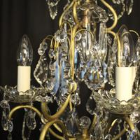 French Birdcage 5 Light Antique Chandelier (6 of 10)