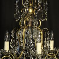French Birdcage 5 Light Antique Chandelier (7 of 10)