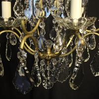 French Birdcage 5 Light Antique Chandelier (8 of 10)