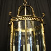 French Bronze Four Light Antique Lantern (2 of 11)