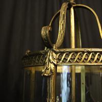 French Bronze Four Light Antique Lantern (3 of 11)