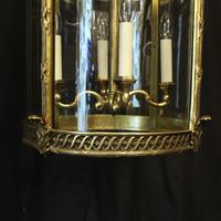 French Bronze Four Light Antique Lantern (7 of 11)