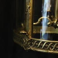 French Bronze Four Light Antique Lantern (8 of 11)