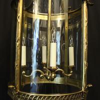 French Bronze Four Light Antique Lantern (9 of 11)