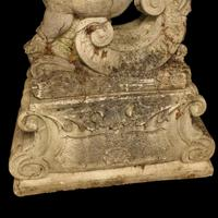 French Pair of Composition Reclining Cherubs (6 of 9)
