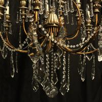 Italian Florentine 12 Light Polychrome Chandelier (9 of 10)