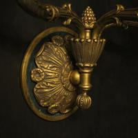 French Pair of Empire Antique Wall Lights (7 of 10)