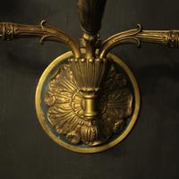 French Pair of Empire Antique Wall Lights (8 of 10)