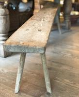 Antique French Dairy Bench c.1700