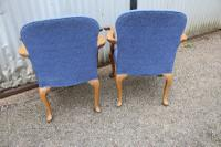 Pair of Armchairs c.1900 (5 of 5)