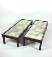 Fine Pair of 19th Century Chinese Hardwood Coffee Tables (2 of 13)