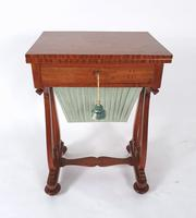 Early 19th Century Satinwood Games / Work Table with Folding Top (11 of 11)