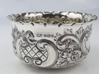 Fine Quality Sterling Silver Sugar Basin Sheff 1894 Lee & Wigfull