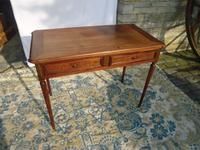 Very Pretty Two Drawer Writing / Side Table