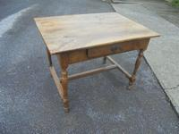 Faded French Fruitwood Side Table