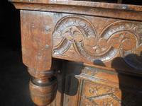 17th Century Carved Oak Cupboard (5 of 5)